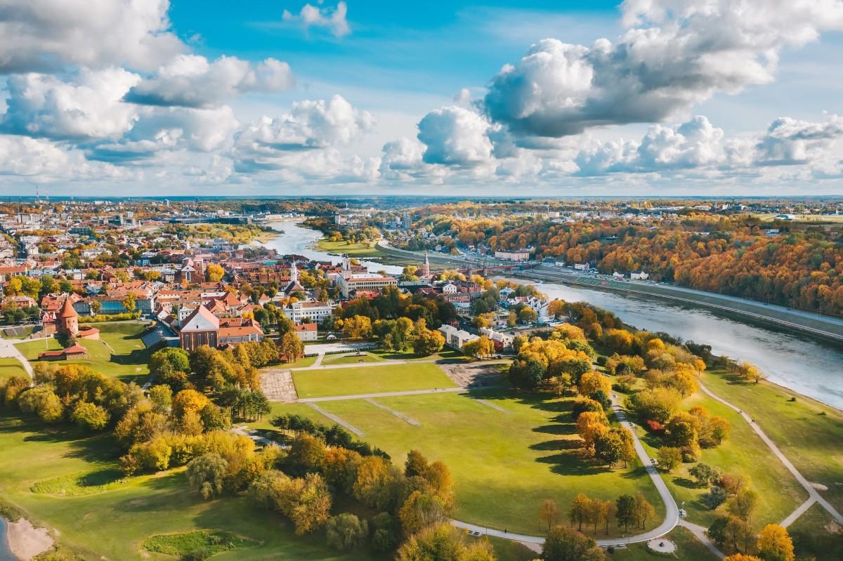 Пазл Собирать пазлы онлайн - Kaunas