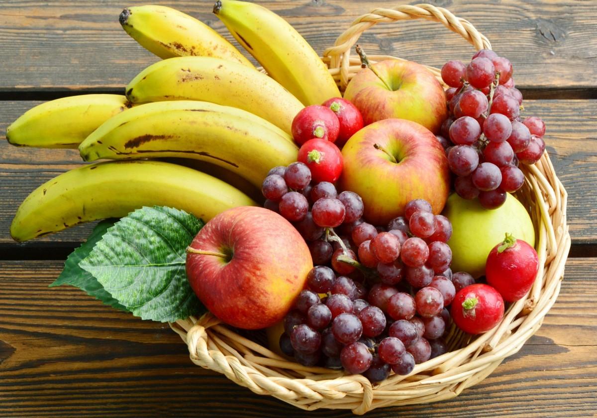 Пазл Корзина с фруктами
