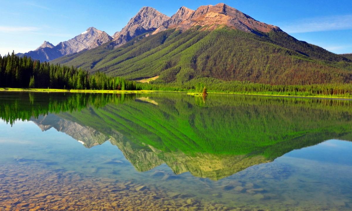 Пазл Собирать пазлы онлайн - Красота гор
