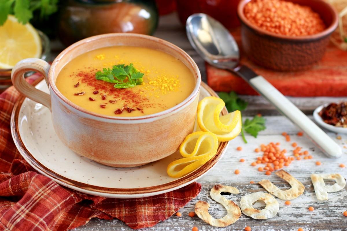 Пазл Собирать пазлы онлайн - Крем-суп