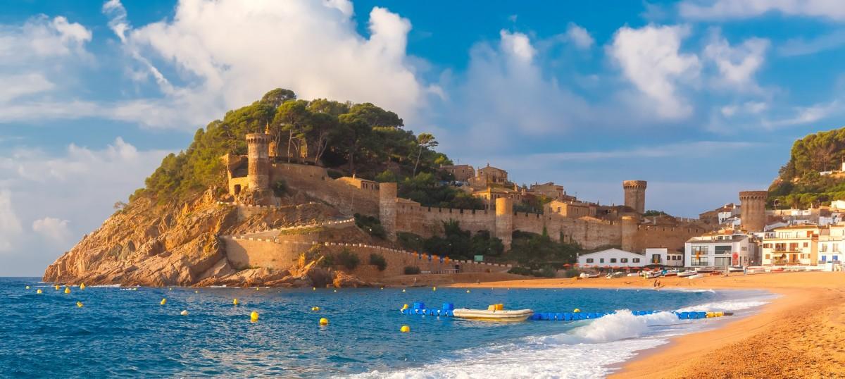 Пазл Собирать пазлы онлайн - Крепость и пляж