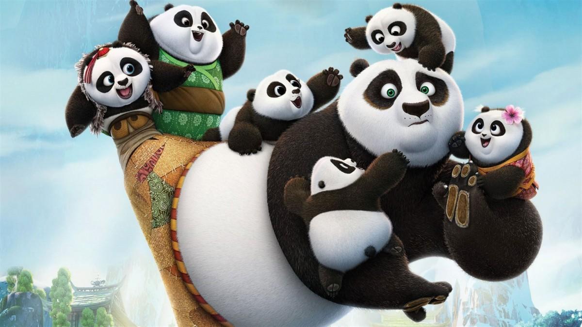 Пазл Собирать пазлы онлайн - Кунг-фу Панда