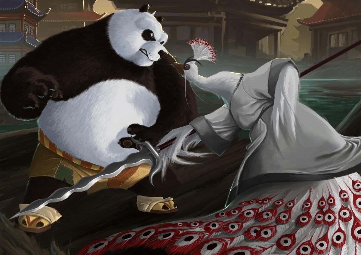 Пазл Собирать пазлы онлайн - Kung Fu Panda