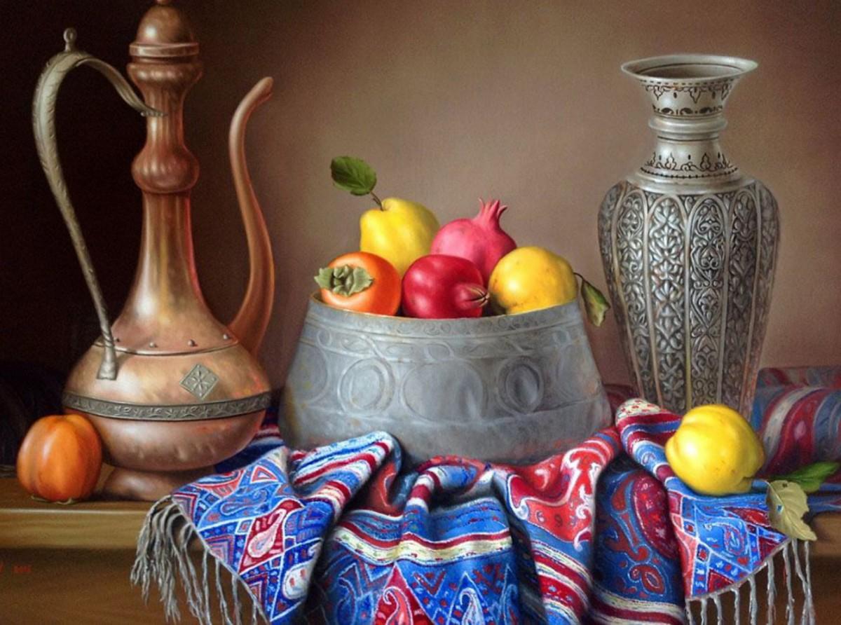 Пазл Собирать пазлы онлайн - Кувшин и ваза