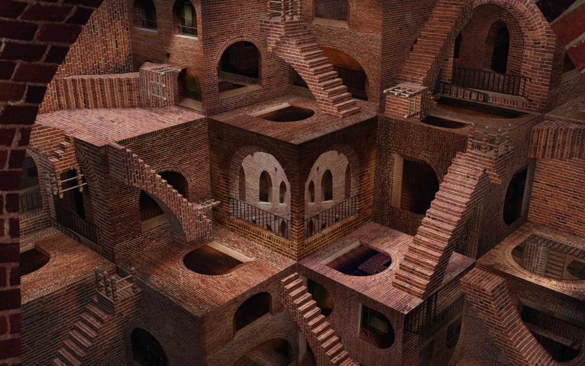 Пазл Собирать пазлы онлайн - Лестницы и арки