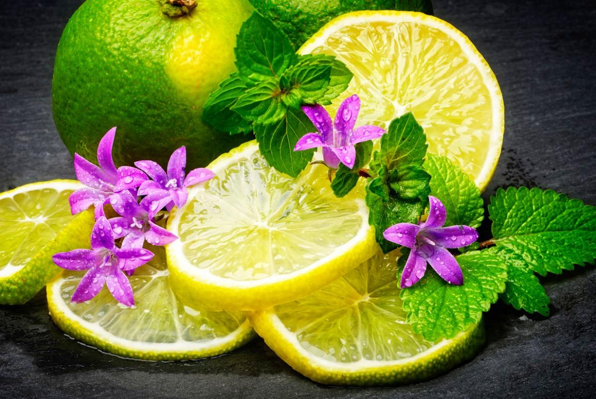Пазл Собирать пазлы онлайн - Лимон и мята