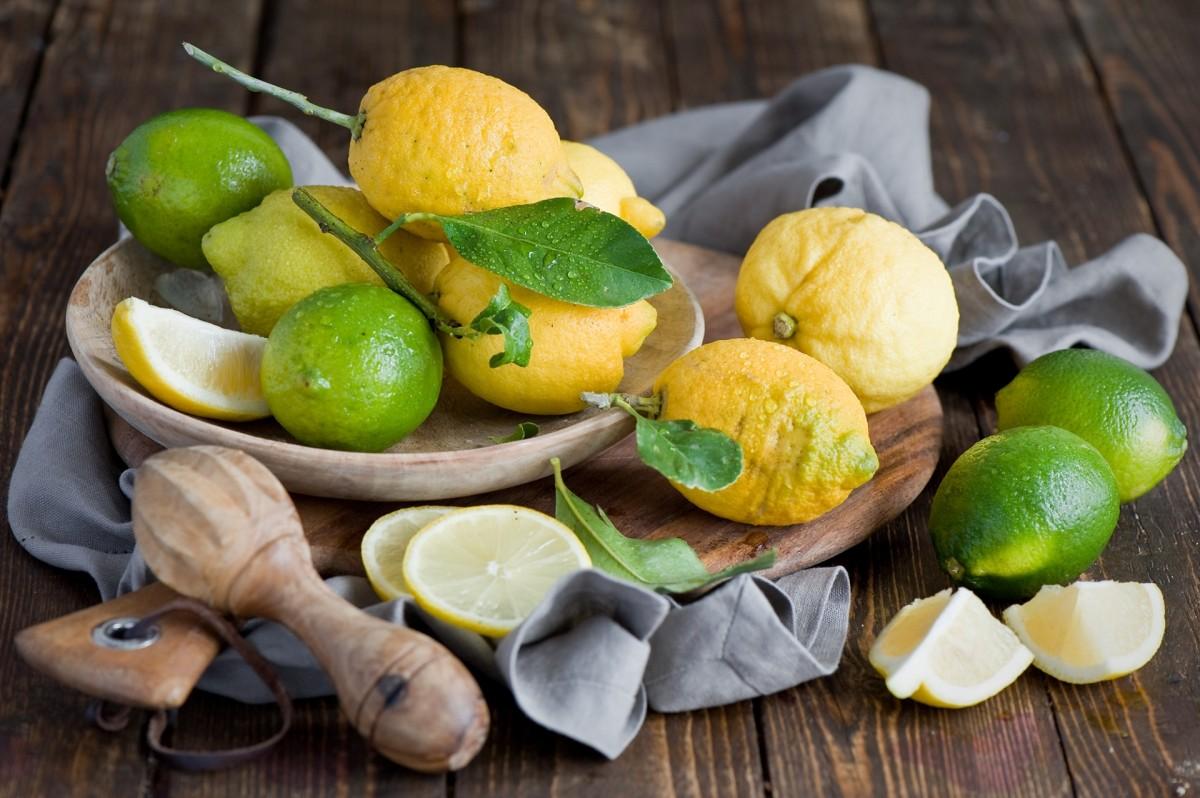 Пазл Собирать пазлы онлайн - Лимоны и лаймы