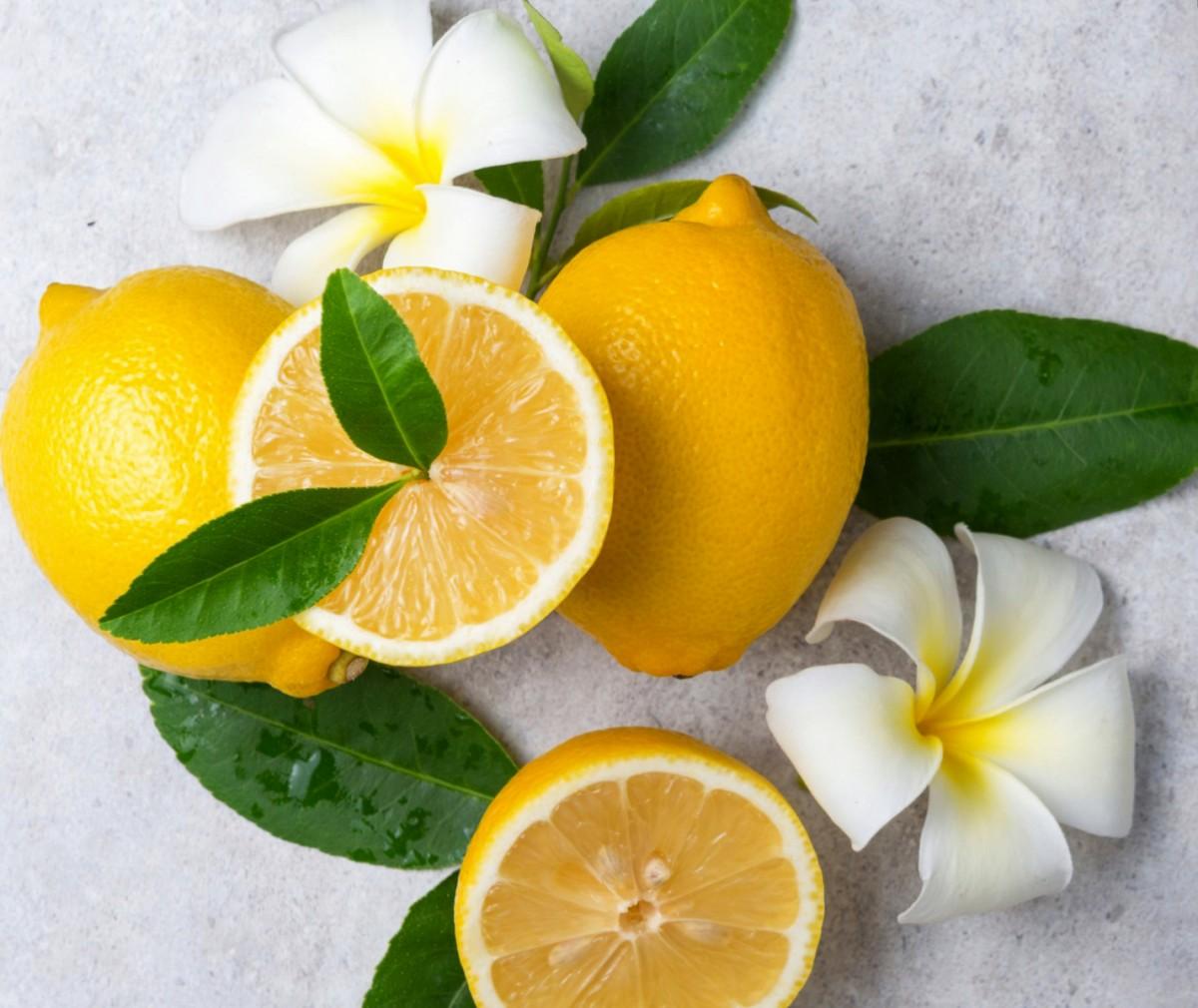 Пазл Собирать пазлы онлайн - Лимоны и цветы