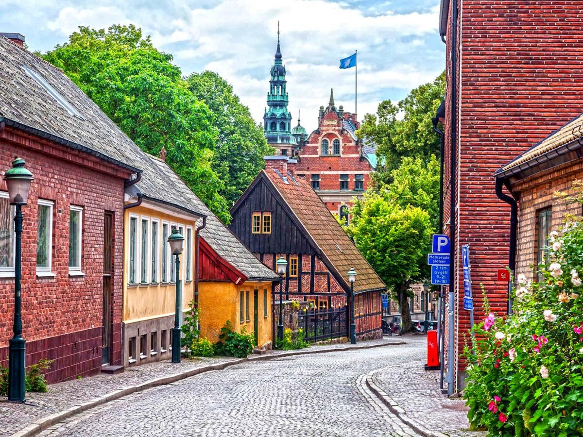 Пазл Собирать пазлы онлайн - Лунд Швеция