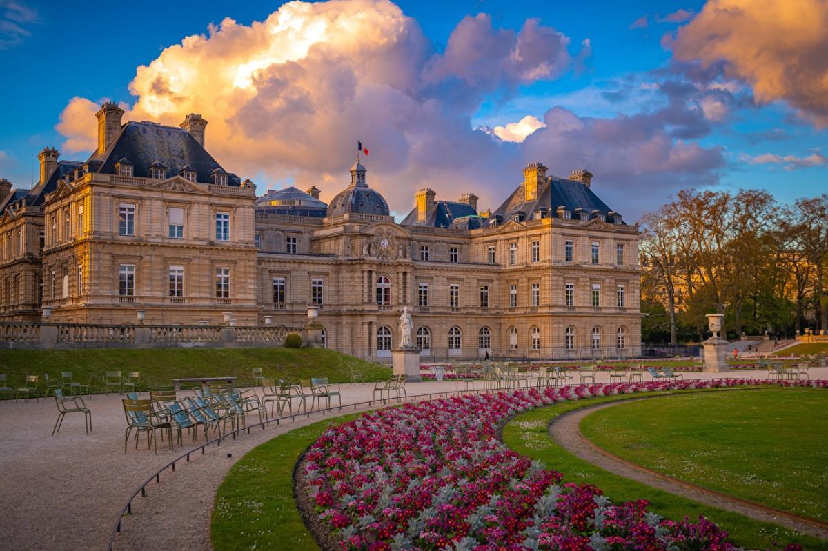 Пазл Собирать пазлы онлайн - Люксембургский сад