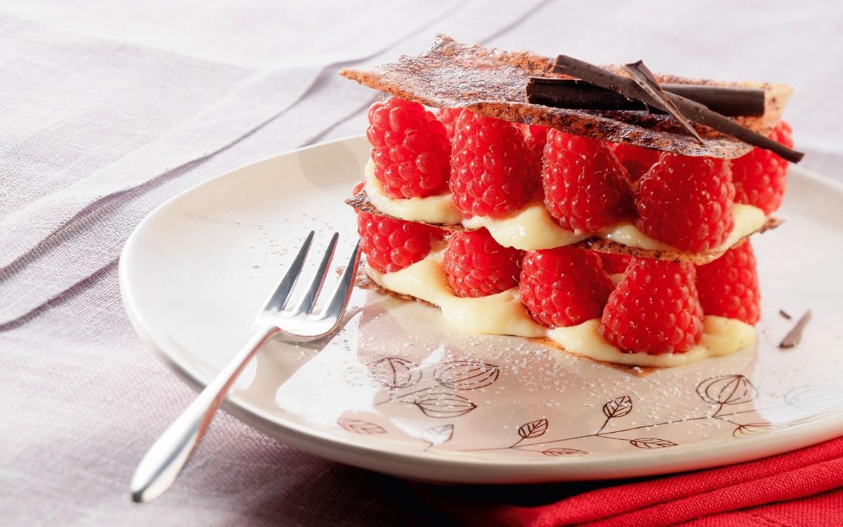 Пазл Малиновый десерт