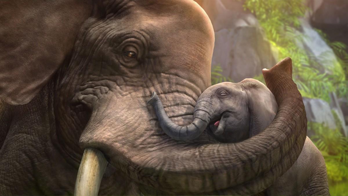 Пазл Собирать пазлы онлайн - Материнская нежность