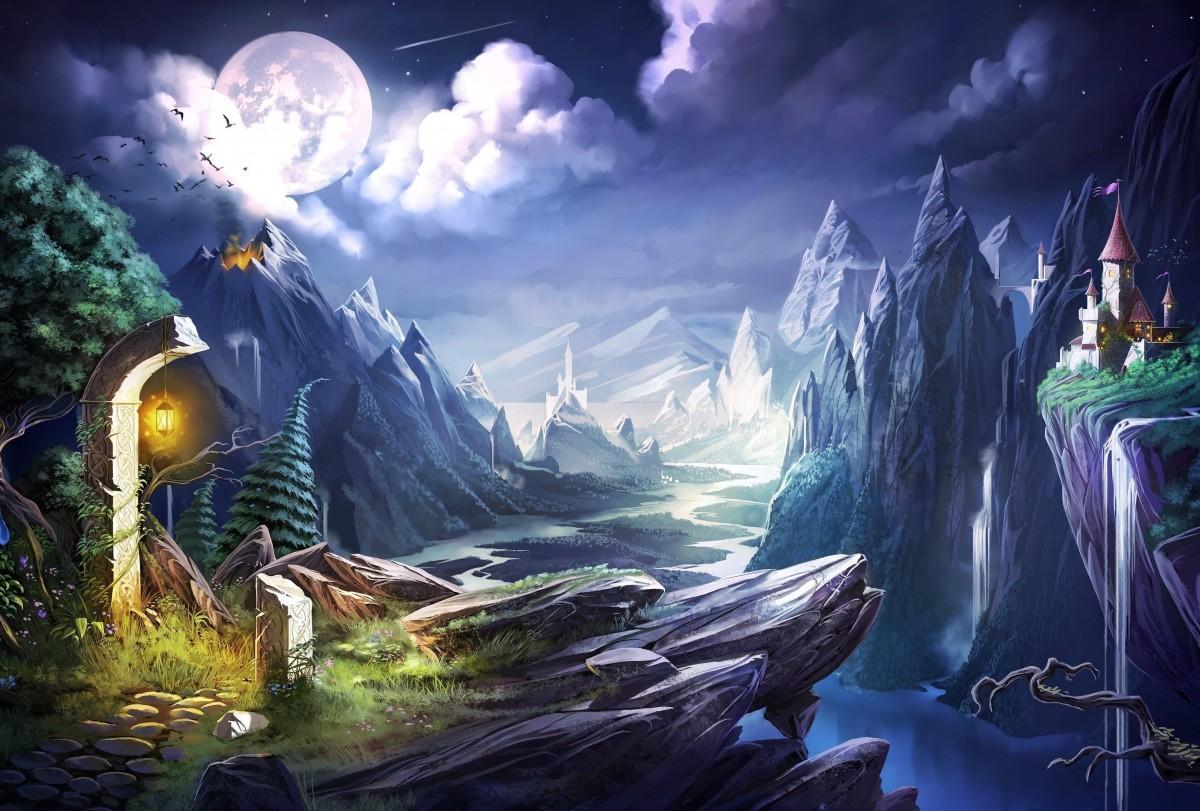 Пазл Собирать пазлы онлайн - Мир волшебства и тайн