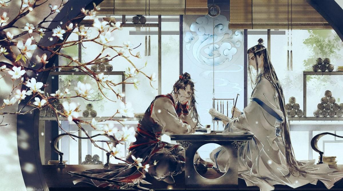 Пазл Собирать пазлы онлайн - Mo Dao Zu Shi