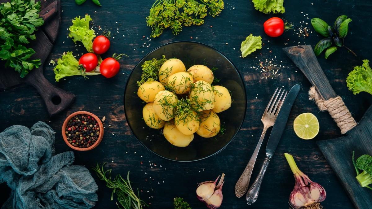 Пазл Собирать пазлы онлайн - Молодой картофель