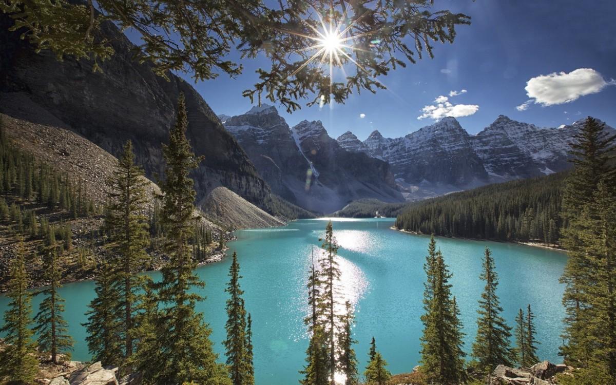 Пазл Собирать пазлы онлайн - Moraine,Alberta