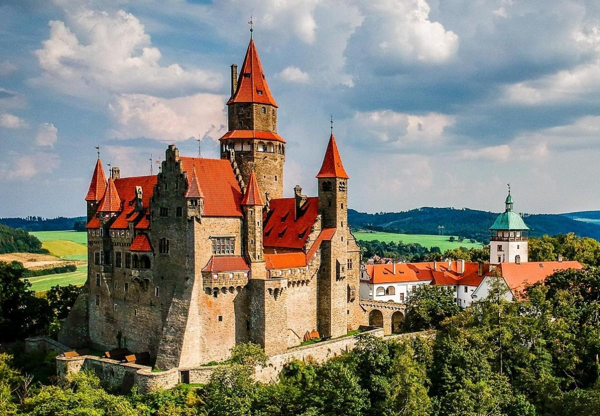 Пазл Собирать пазлы онлайн - Моравский замок