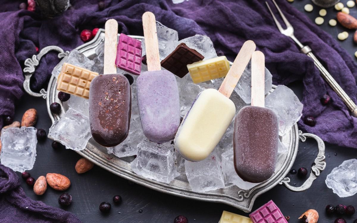 Пазл Собирать пазлы онлайн - Мороженое