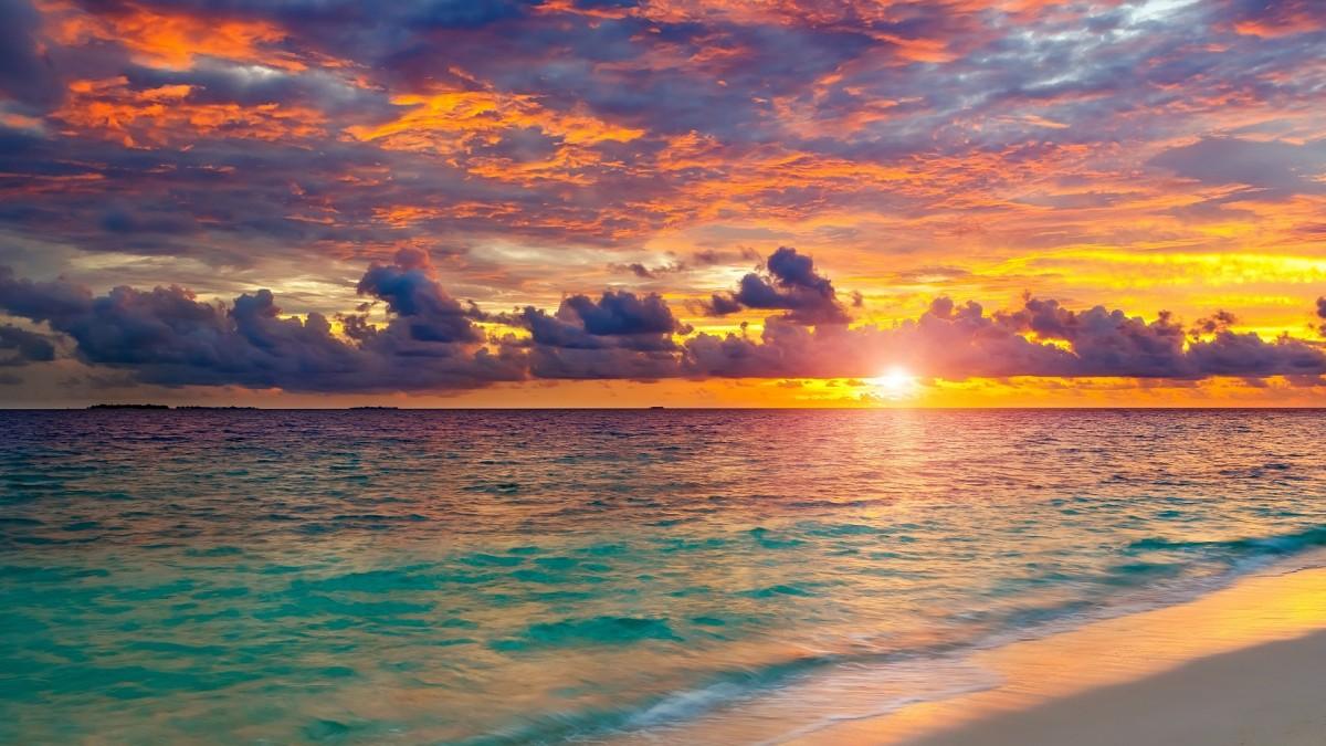 Пазл Собирать пазлы онлайн - Морской горизонт