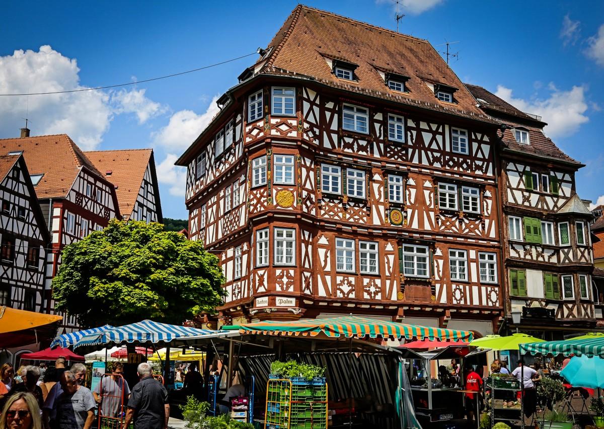Пазл Собирать пазлы онлайн - Мосбах Германия