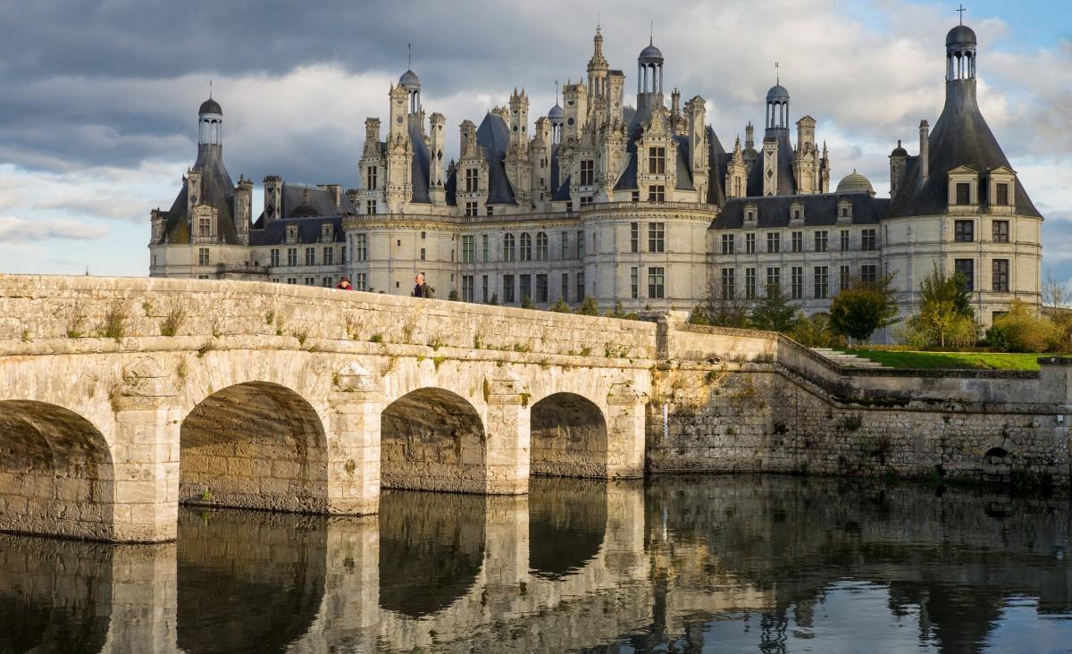 Пазл Собирать пазлы онлайн - Мост и замок