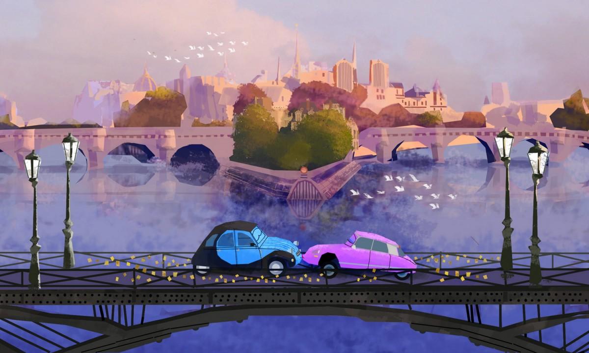 Пазл Собирать пазлы онлайн - Мост поцелуев