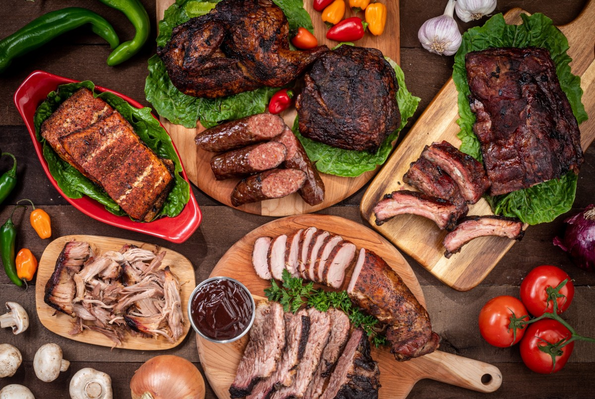 Пазл Собирать пазлы онлайн - Мясо в ассортименте