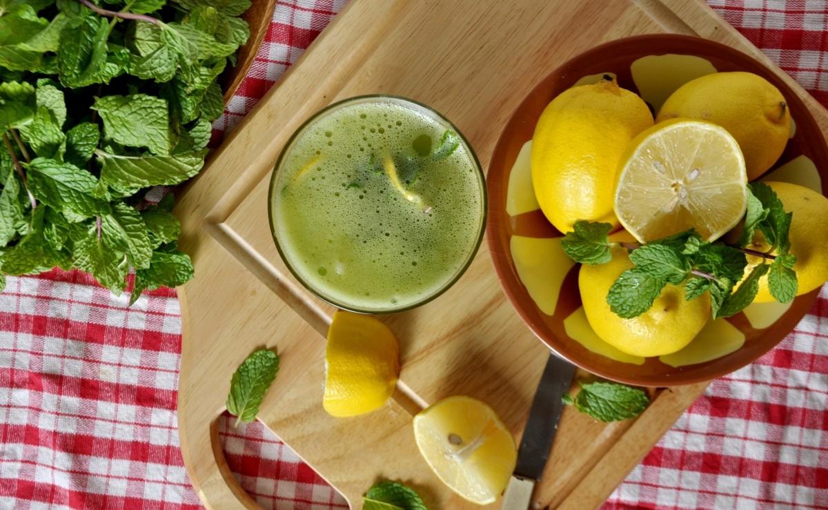 Пазл Собирать пазлы онлайн - Мятный лимонад
