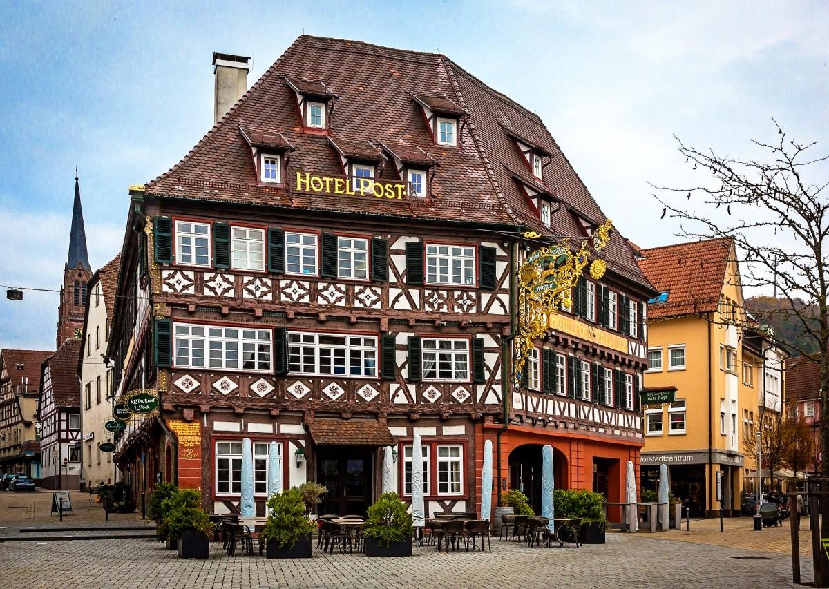 Пазл Собирать пазлы онлайн - Нагольд Германия