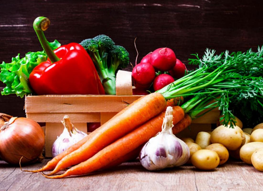 Пазл Собирать пазлы онлайн - Натюрморт с овощами