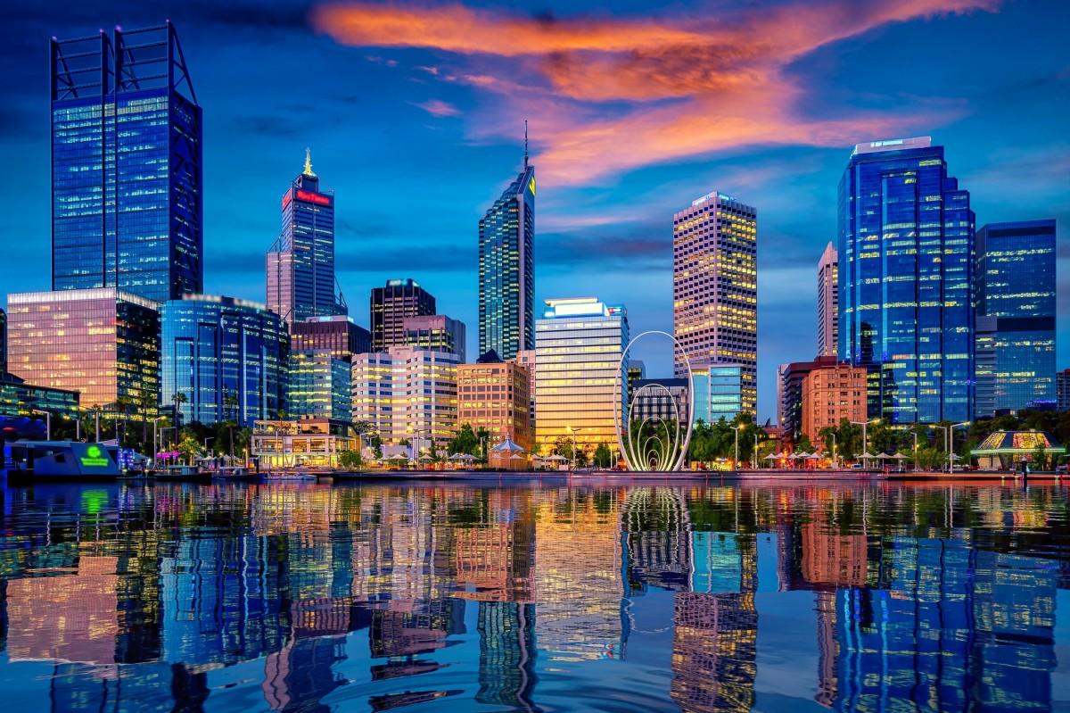 Пазл Собирать пазлы онлайн - Небоскрёбы Австралии