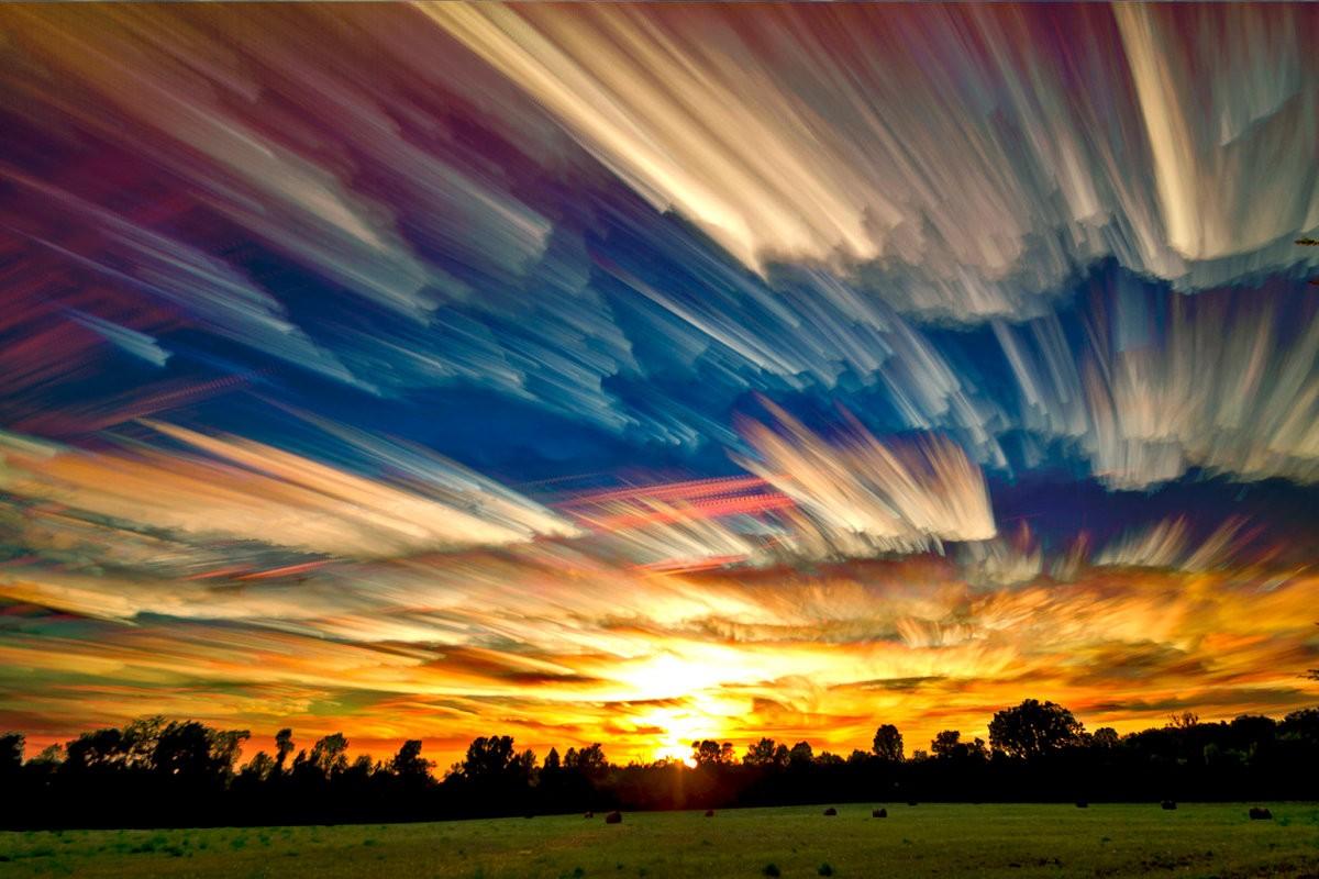 Пазл Собирать пазлы онлайн - Нереальные небеса