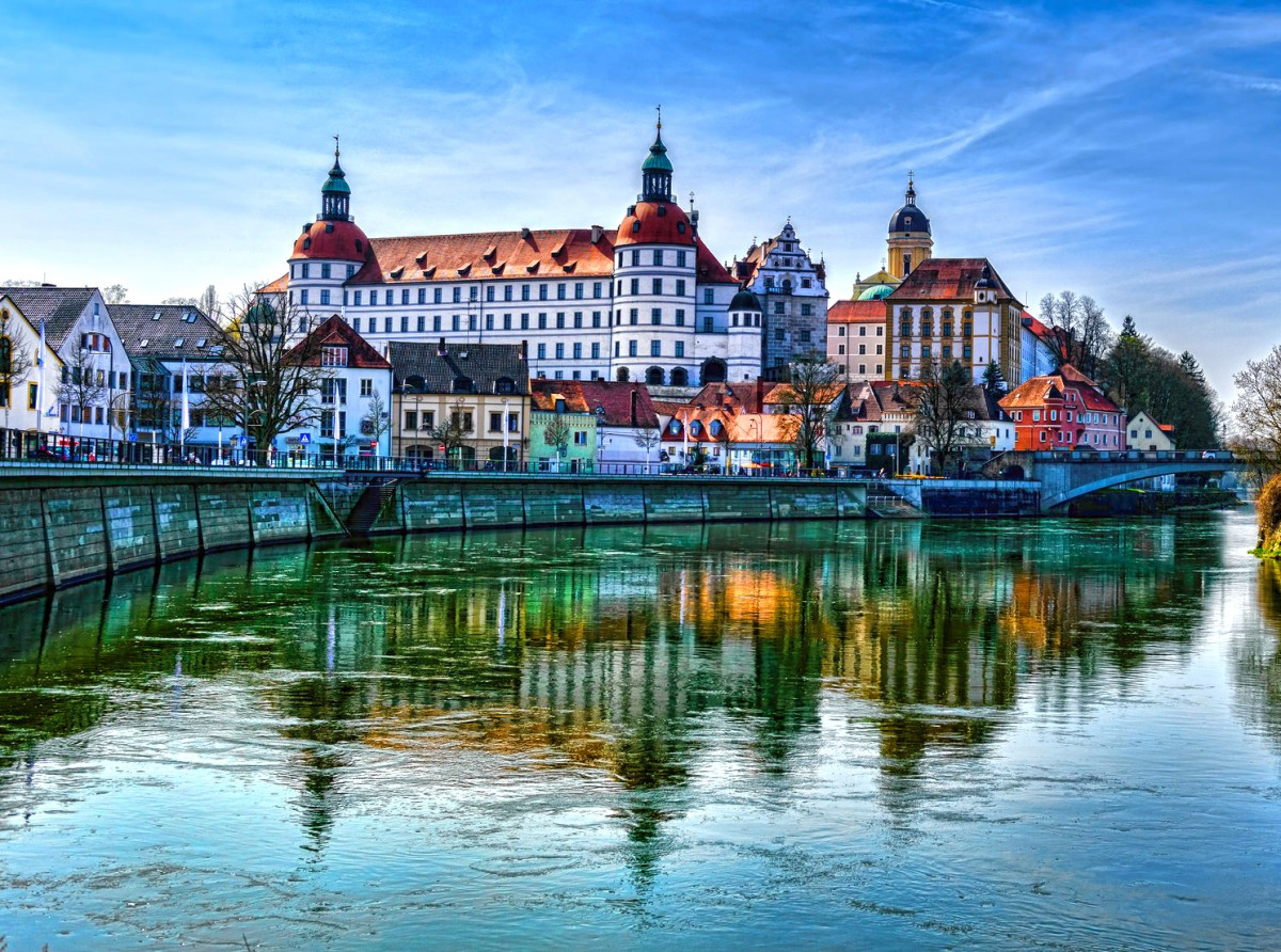 Пазл Собирать пазлы онлайн - Нойбург Германия