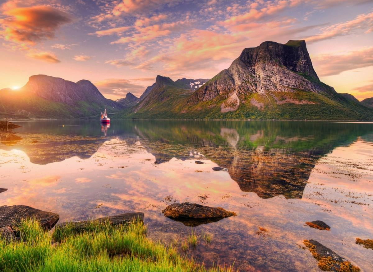 Пазл Собирать пазлы онлайн - Норвегия