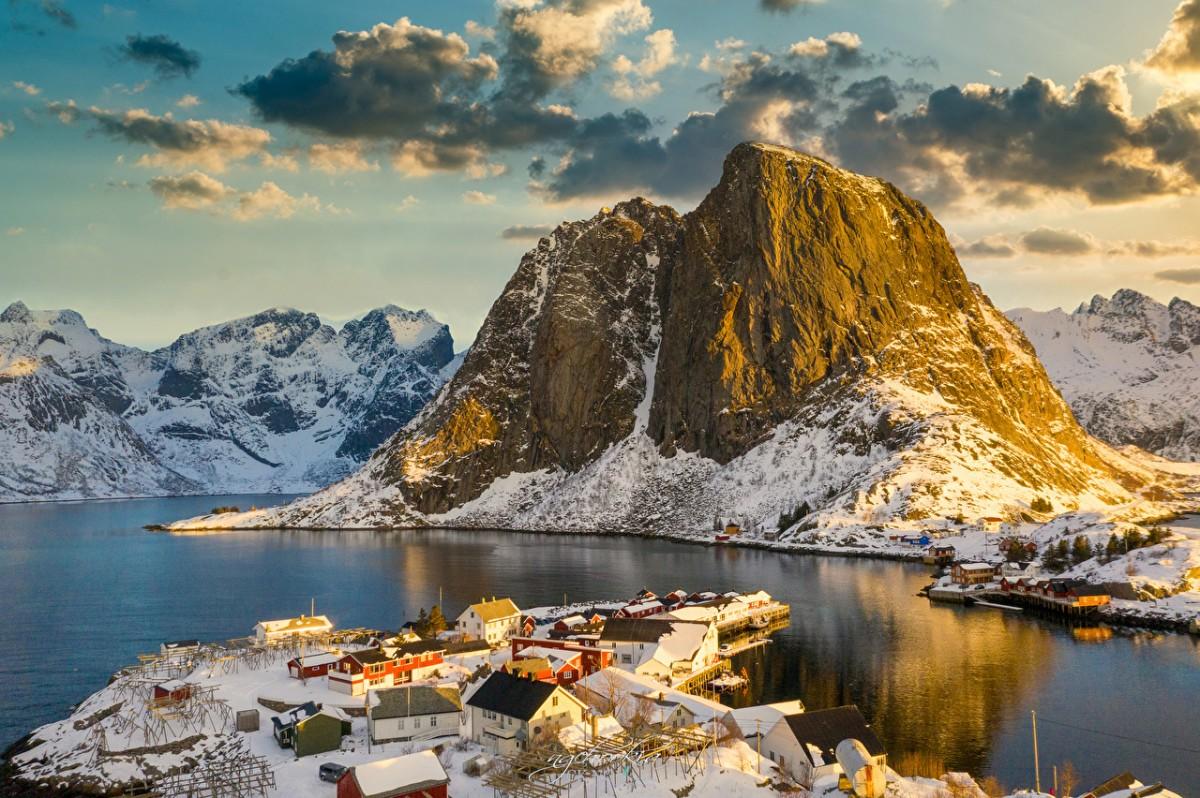 Пазл Норвежское поселение