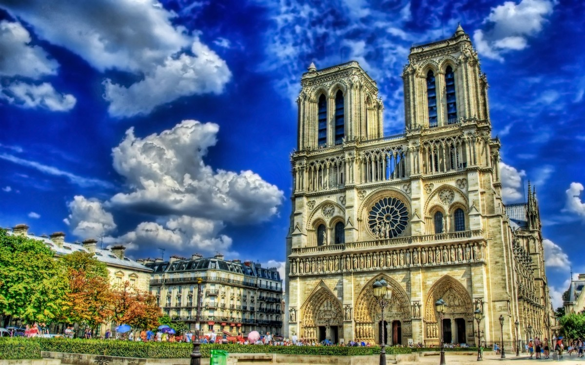 Пазл Собирать пазлы онлайн - Notre-Dame de Paris
