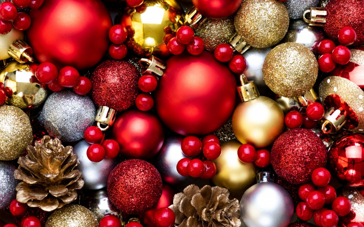 Пазл Собирать пазлы онлайн - Новогодние игрушки