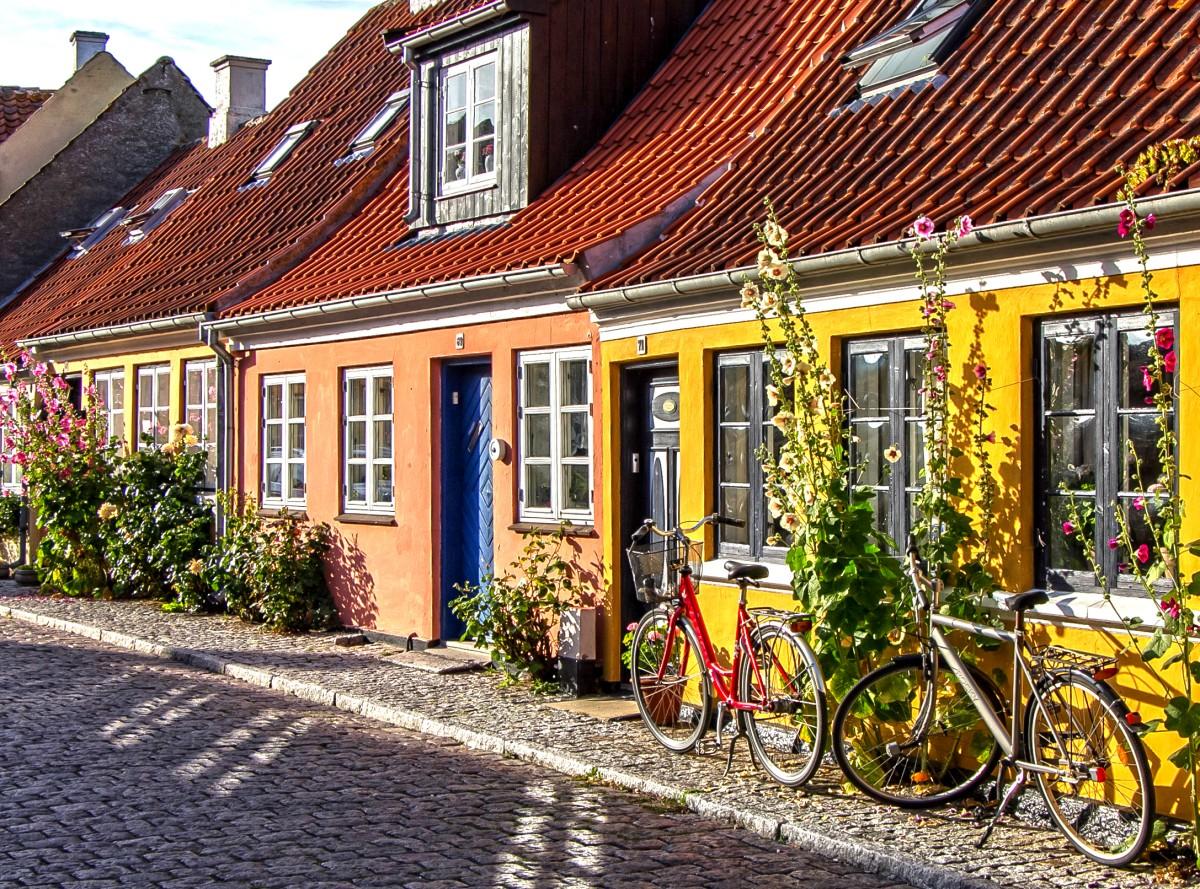 Пазл Собирать пазлы онлайн - Оденсе Дания