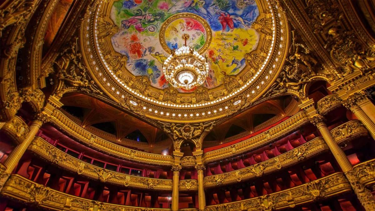 Пазл Собирать пазлы онлайн - Опера в Париже