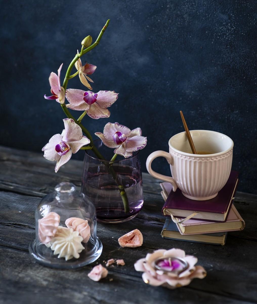 Пазл Собирать пазлы онлайн - Орхидеи и безе