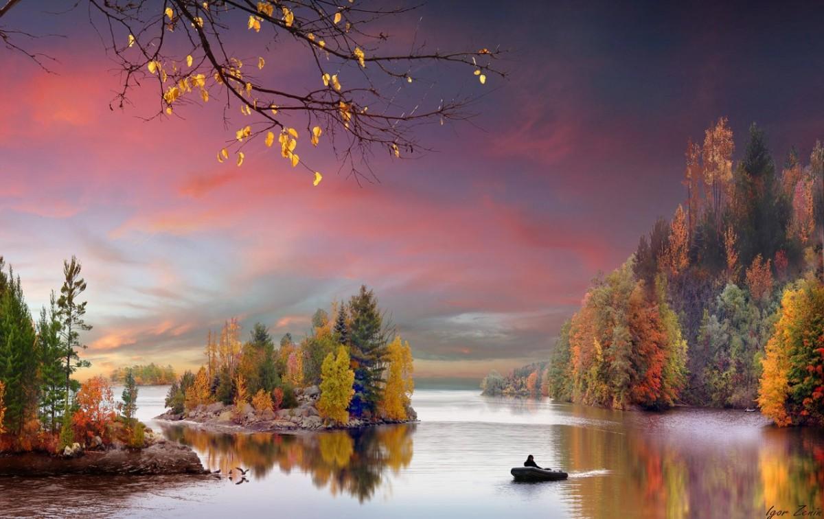 Пазл Собирать пазлы онлайн - Осенние краски