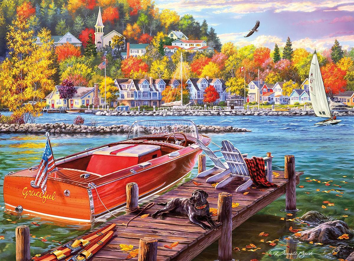 Пазл Собирать пазлы онлайн - Осенний сезон