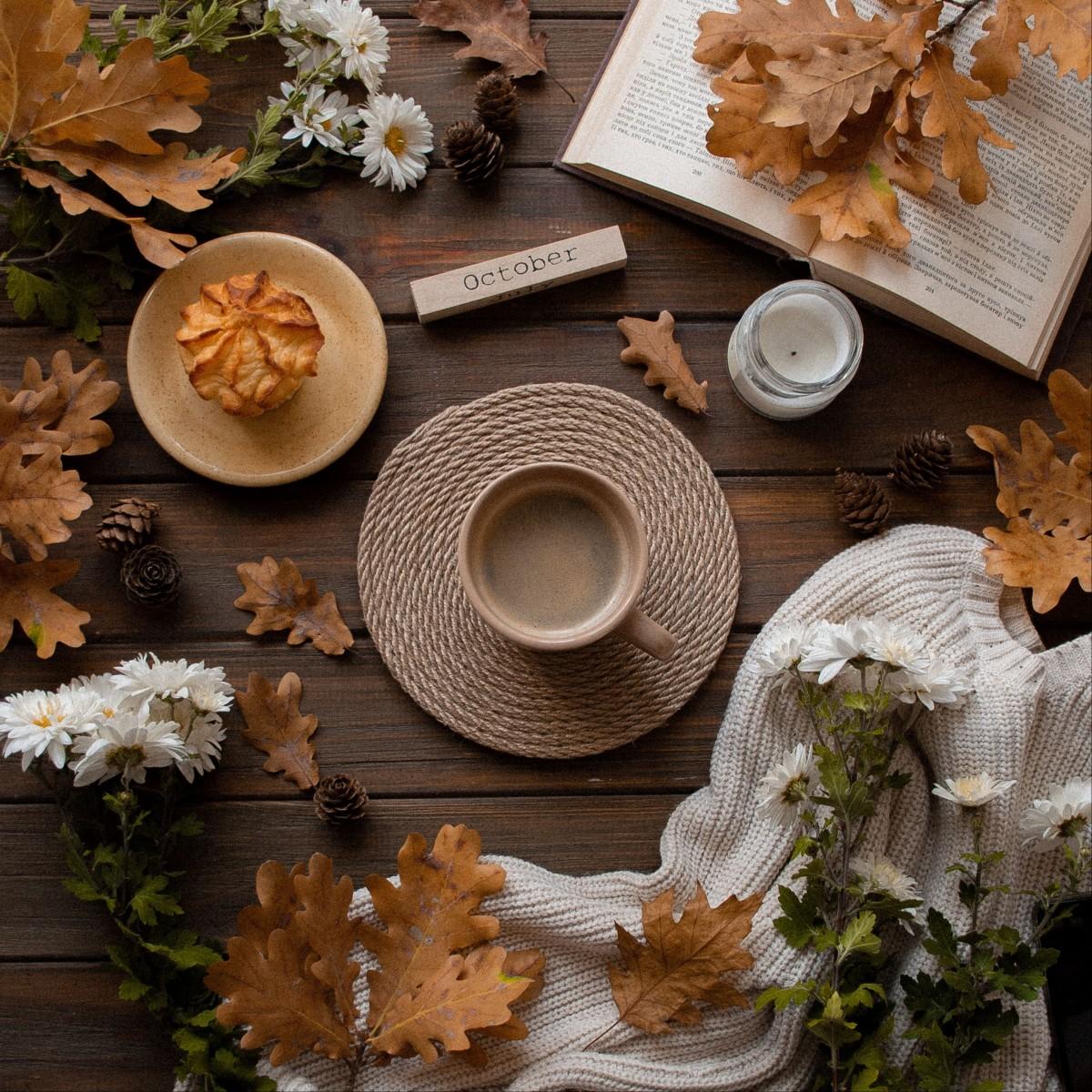 Пазл Собирать пазлы онлайн - Осенний уют