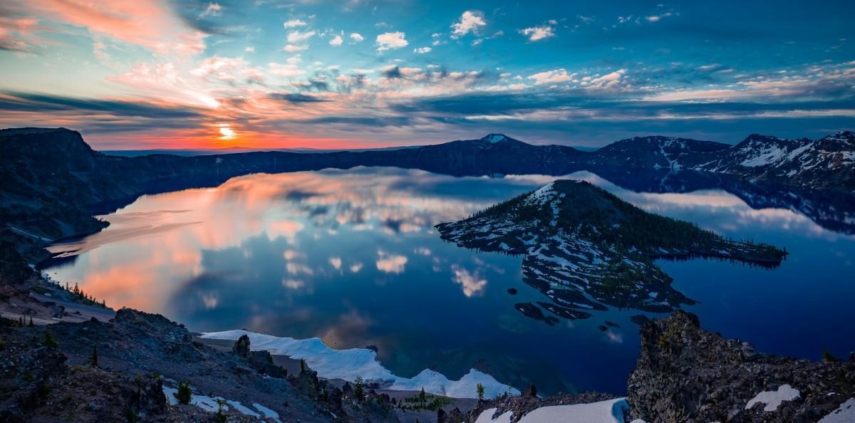 Пазл Собирать пазлы онлайн - Островок и озеро