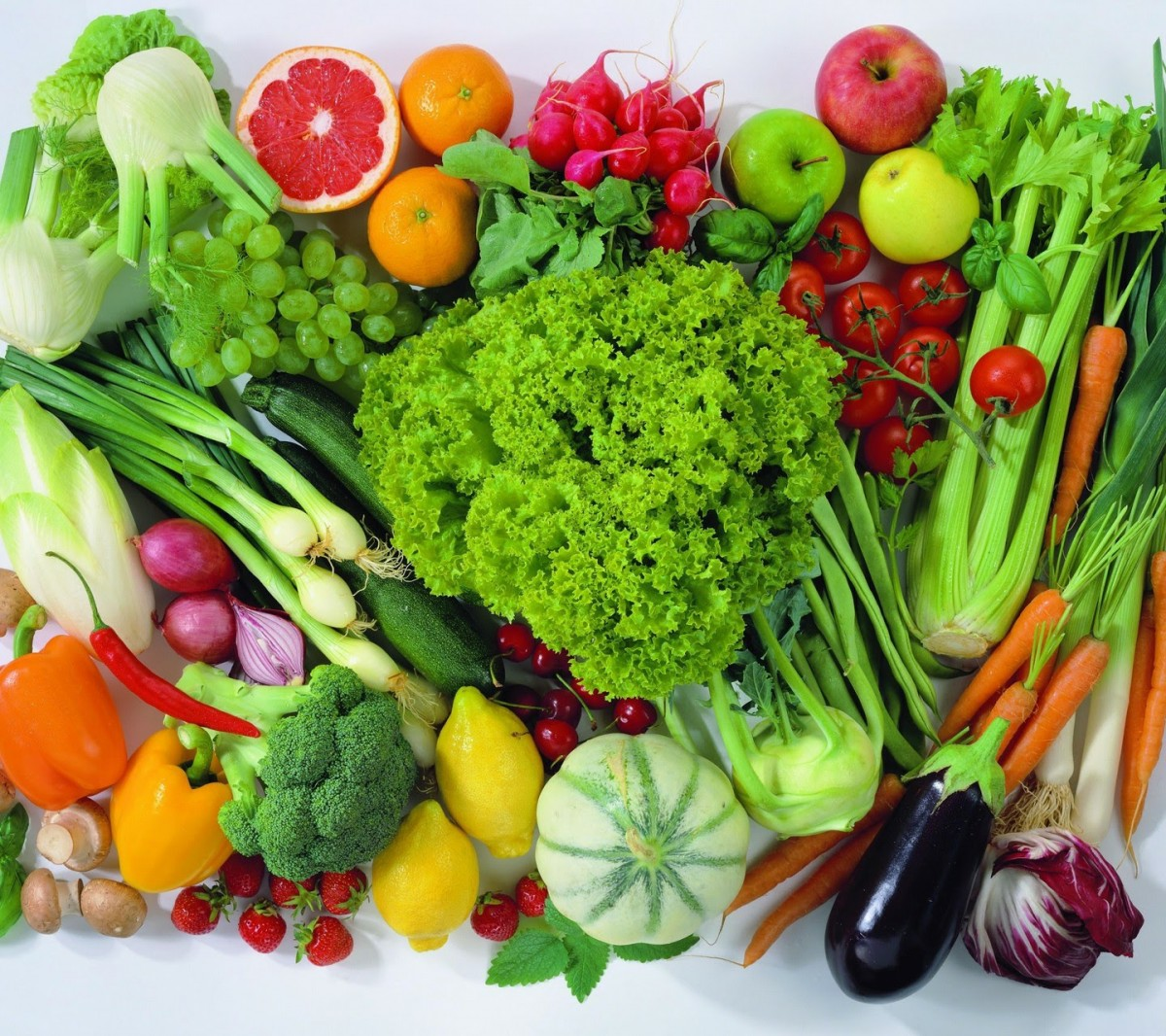 Пазл Собирать пазлы онлайн - Овощи