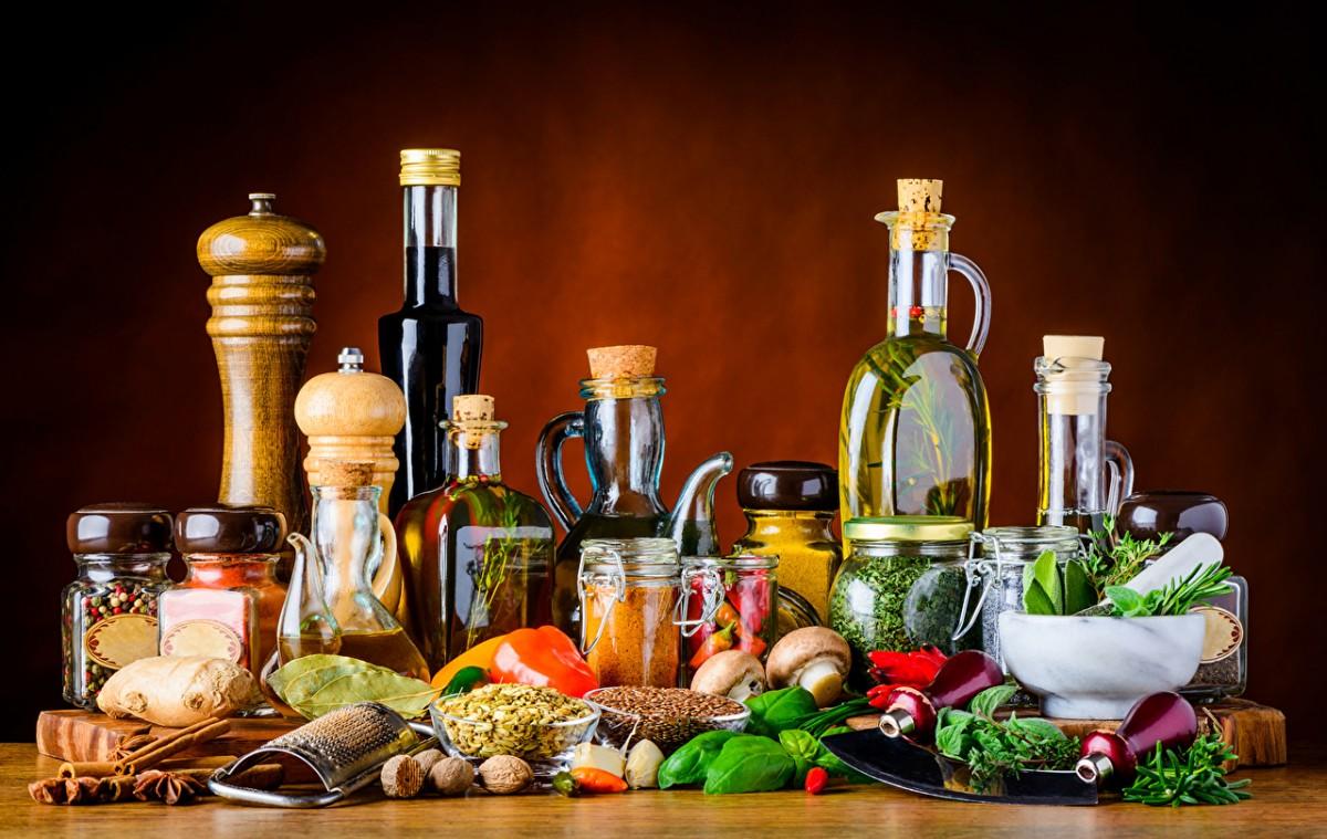 Пазл Собирать пазлы онлайн - Овощи и специи
