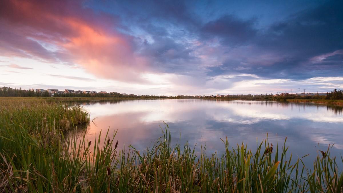 Пазл Собирать пазлы онлайн - Озеро