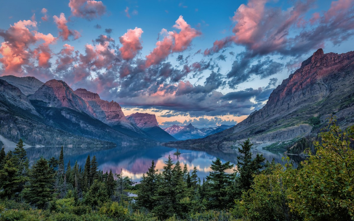 Пазл Собирать пазлы онлайн - Озеро в США