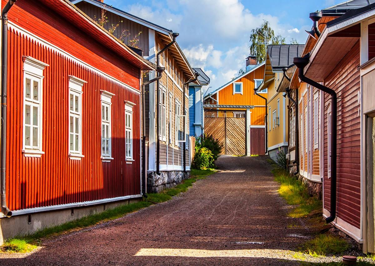 Пазл Собирать пазлы онлайн - Паума Финляндия