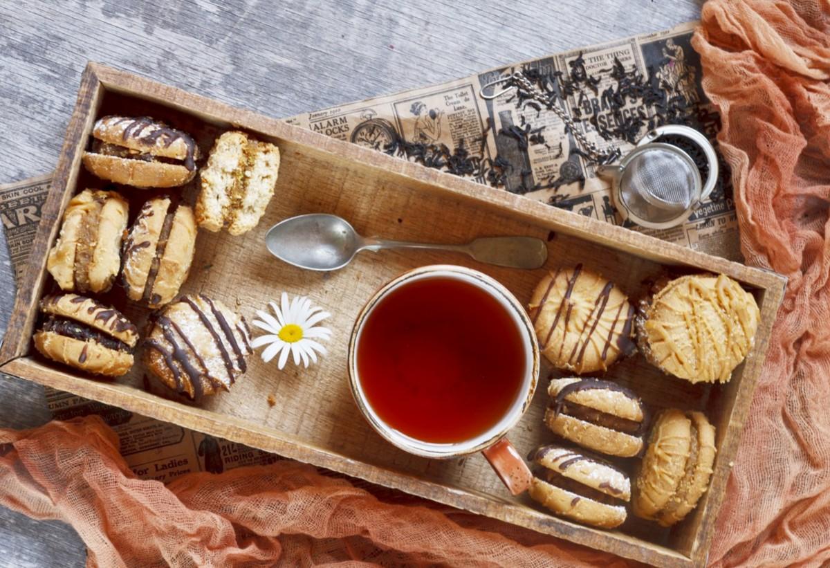 Пазл Собирать пазлы онлайн - Печенье к чаю